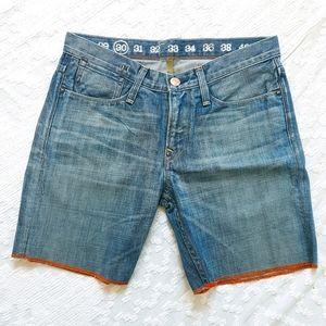Earnest Sewn Denim Shorts